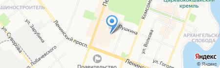 Сумкофф на карте Йошкар-Олы