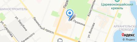 Родной Мой Техникум на карте Йошкар-Олы
