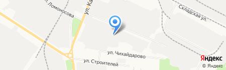 Автостекла на карте Йошкар-Олы