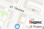 Схема проезда до компании Винегрет в Йошкар-Оле