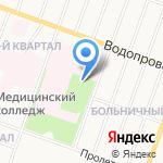 Йошкар-Олинская детская городская больница на карте Йошкар-Олы