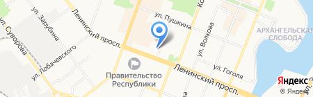 Художественный салон на карте Йошкар-Олы