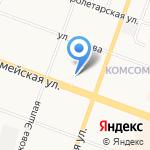 Почтовое отделение №31 на карте Йошкар-Олы