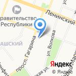 Хорошая аптека на карте Йошкар-Олы