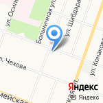 Телеателье на Пролетарской на карте Йошкар-Олы