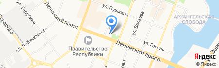 Центр красоты на карте Йошкар-Олы