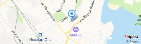 Офис12 на карте Йошкар-Олы