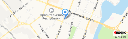 Центр заправки картриджей на карте Йошкар-Олы