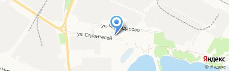 Энергострой-Плюс на карте Йошкар-Олы