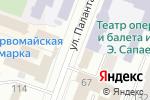 Схема проезда до компании Соффито12 в Йошкар-Оле