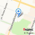 Марийская государственная филармония им. Якова Эшпая на карте Йошкар-Олы