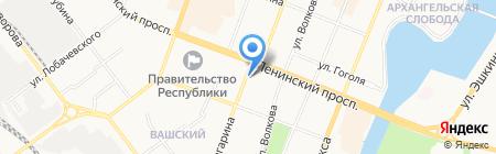 Pin-up на карте Йошкар-Олы
