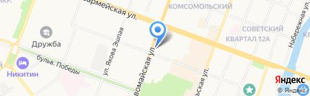 НоутбукЦентр на карте Йошкар-Олы