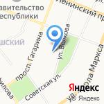 Росгосстрах банк на карте Йошкар-Олы
