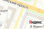 Схема проезда до компании Вятич в Йошкар-Оле