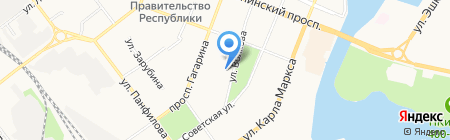 Банкомат Росгосстрах Банк на карте Йошкар-Олы