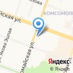 Рубль Бум на карте Йошкар-Олы