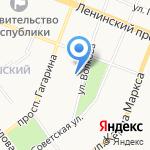 Стоматология доктора Миронова на карте Йошкар-Олы