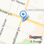 Русский размер на карте Йошкар-Олы