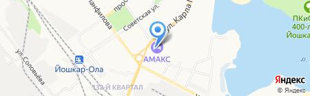Банкомат БИНБАНК на карте Йошкар-Олы
