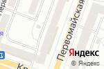 Схема проезда до компании Серебряный лис в Йошкар-Оле