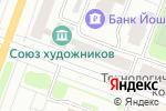 Схема проезда до компании Окна 21 века в Йошкар-Оле