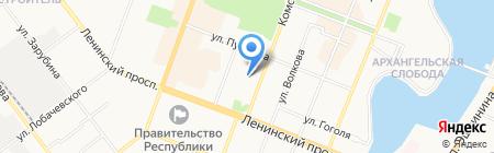 АКБ Чувашкредитпромбанк на карте Йошкар-Олы