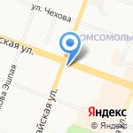 АвтоСпасатели на карте Йошкар-Олы