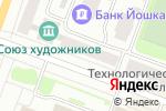 Схема проезда до компании Сапфир в Йошкар-Оле