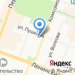 Марийский государственный театр оперы и балета им. Э. Сапаева на карте Йошкар-Олы