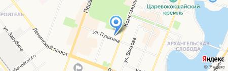Марийский республиканский колледж культуры и искусств им. И.С. Палантая на карте Йошкар-Олы