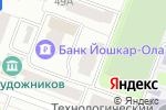 Схема проезда до компании Финам в Йошкар-Оле