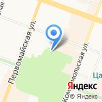 Центральный парк культуры и отдыха им. ХХХ-летия ВЛКСМ на карте Йошкар-Олы