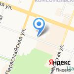 Йошкар-Олинский технологический колледж на карте Йошкар-Олы