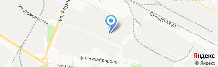 Техцентр АвтоБен на карте Йошкар-Олы