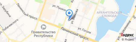 Марийский национальный театр драмы им. М. Шкетана на карте Йошкар-Олы