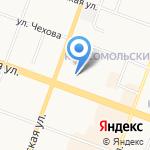 АПР-Сити/ТВД на карте Йошкар-Олы