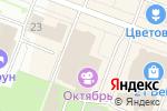 Схема проезда до компании Октябрь в Йошкар-Оле