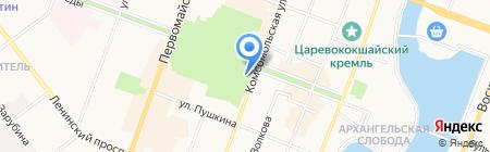 Терраса ОЛД Скул на карте Йошкар-Олы