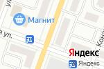 Схема проезда до компании Цветков в Йошкар-Оле