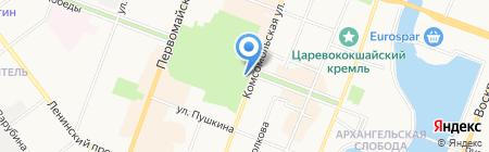 Экспресс-Ломбард на карте Йошкар-Олы