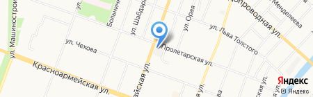 Йошкар-Олинская обувная фабрика на карте Йошкар-Олы