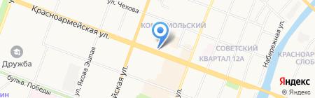 Марийская мемориальная компания на карте Йошкар-Олы