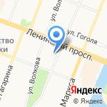 Марийский радиомеханический техникум на карте Йошкар-Олы