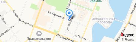Руслана на карте Йошкар-Олы