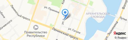 АВТОСУШИ на карте Йошкар-Олы