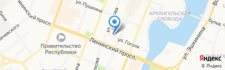 TUI на карте Йошкар-Олы