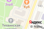 Схема проезда до компании НБД-банк, ПАО в Йошкар-Оле