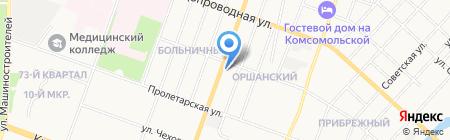 Signature на карте Йошкар-Олы