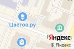Схема проезда до компании Двери Зодчий в Йошкар-Оле